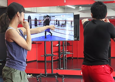 シャドーボクシング(ボクシングエクササイズビデオ)